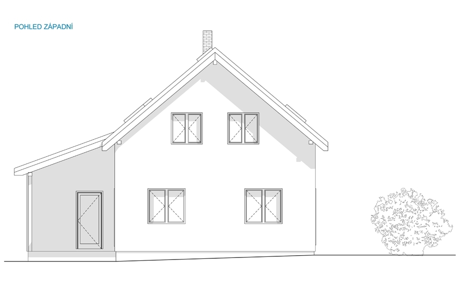 Rodinný dům Dlouhá Lhota